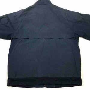 Lacoste Jackets & Coats - Izod Lacoste Mens Jacket Blue Zip Up Mock SZ M
